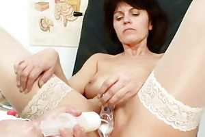 elder wife weird speculum twat investigation