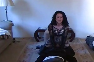 corporalist wife makes him worship her bawdy cleft