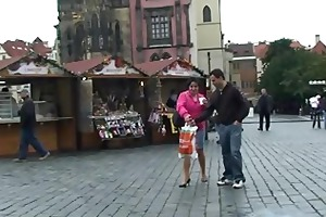 old tourist getting picked up and fucked