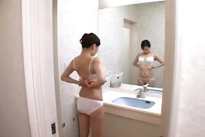 boob boob miki sato enjoyable shower