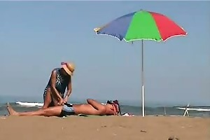 mature woman giving a tugjob