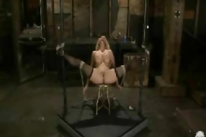 fastened play and trampling with naughty