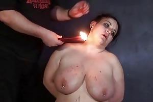 dilettante sadomasochism and sexy wax castigation