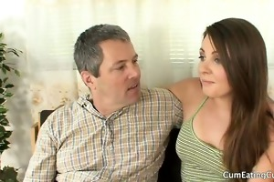 jimmy loves watching his small wife cali with her