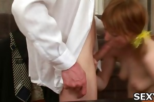 sex appeal sweetheart receives team-fucked truly