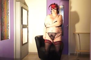 brenda - striptease masturbation &;
