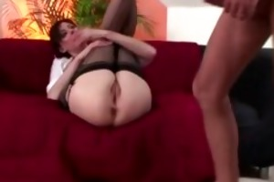 aged stockings seduction fucking