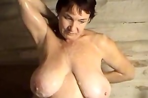 margo topless busty