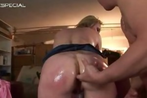 aged mother getting all her holes filled part2