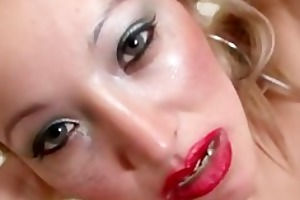 lalin girl rubia solo masturbation 2