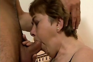 nasty older floozy goes insane engulfing part4