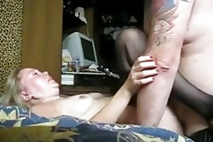 wife with dark underware receives fucked