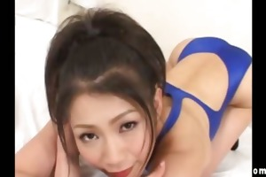 asian bitch shows what she is got in her bathing