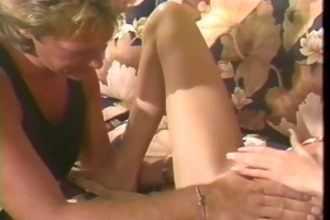 golden-haired getting her tight snatch screwed