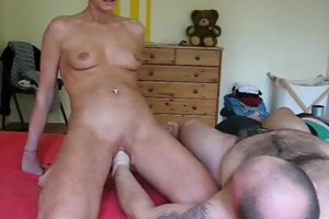 perverted housewife receives her every day