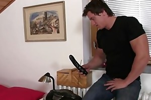 lusty floozy rides her son in law dick