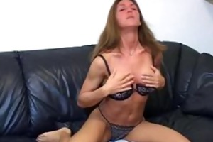 jerk off teacher goes topless to tease fellows to