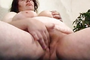 fat mama didles with her chucky cum-hole
