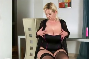 large titted golden-haired copulates and sucks