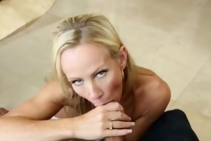 pure older golden-haired mother i moans, takes