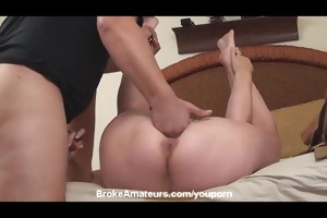 real amateur d like to fuck acquires a facial