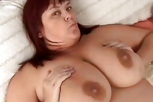 glamorous breasty older big beautiful woman in